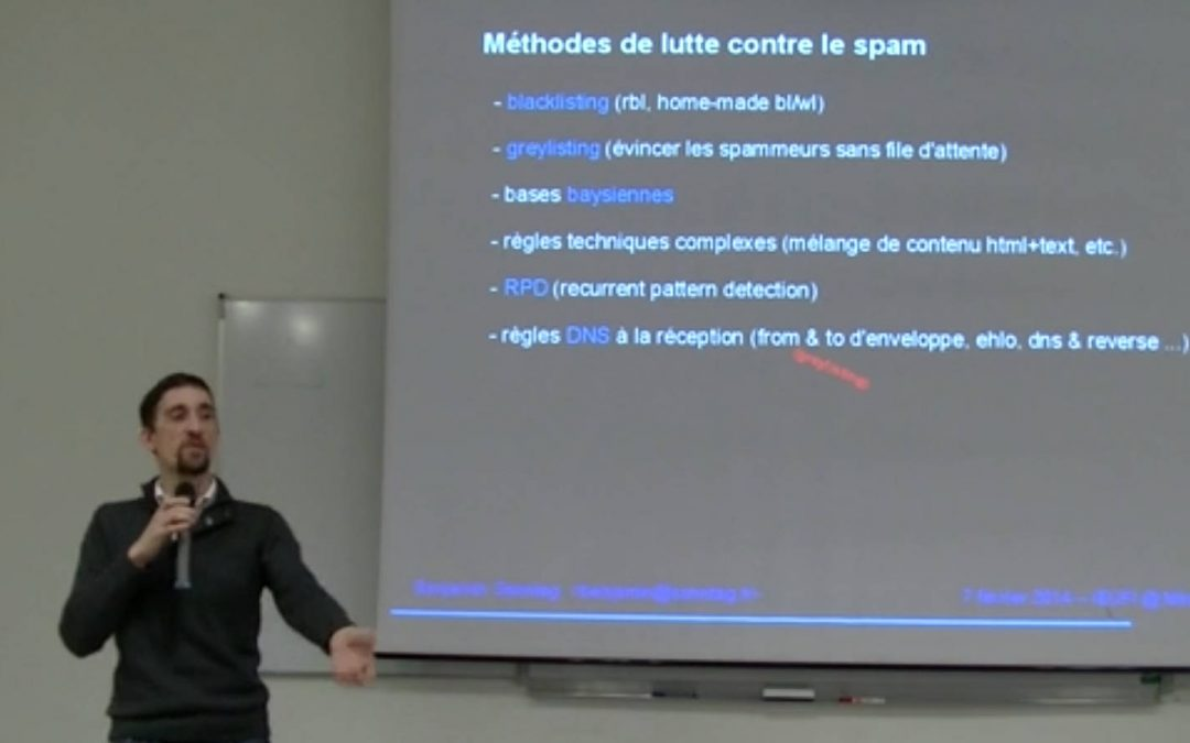 Conférence : l'Email, vaste sujet, par Benjamin Sonntag