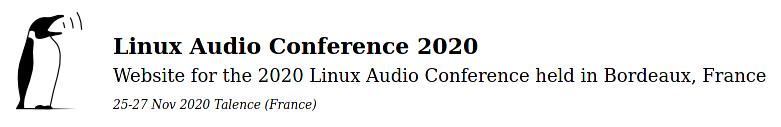 Octopuce héberge la Linux Audio Conférence !